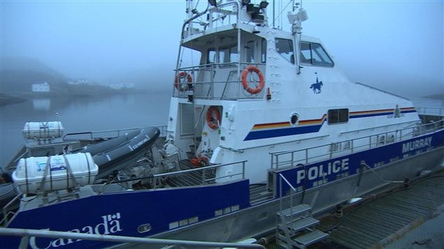 Le bateau-patrouille Murray de la GRC