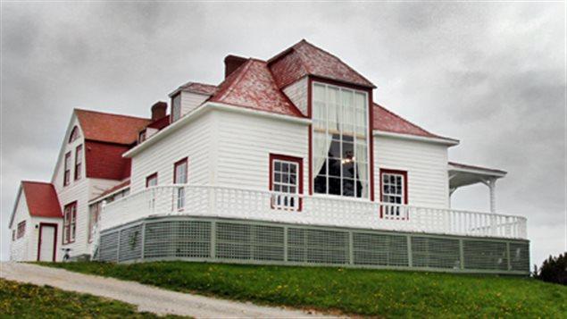 L'école internationale d'été de Percé était situé dans la villa Frédérick James