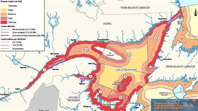 Une mar e noire traverserait le lac saint pierre en 8 heures dit une nouvell - Echelle de sensibilite ...