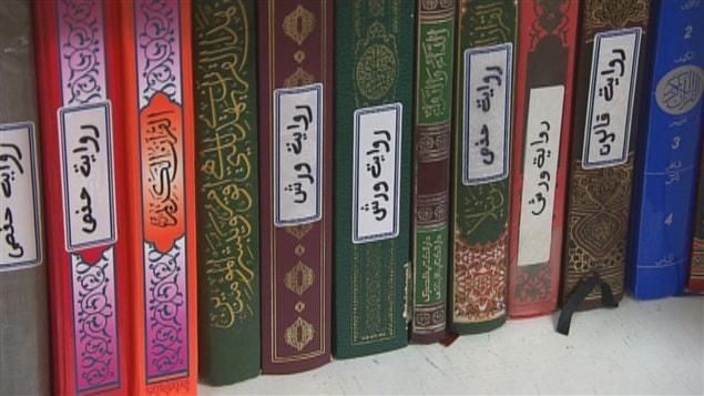 Des livres à la mosquée de Trois-Rivières