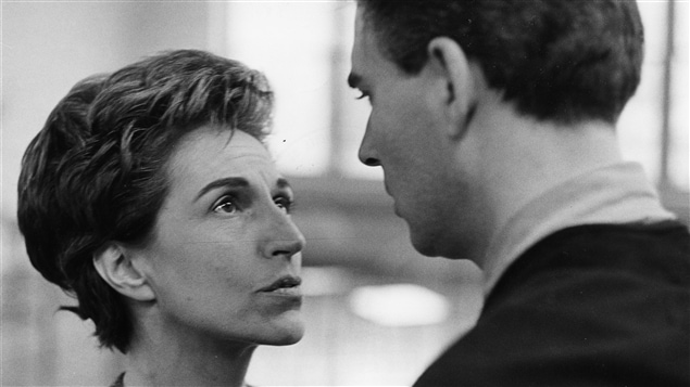 «Quelqu'un parmi vous» avec Janine Sutto et Benoît Girard en 1963.