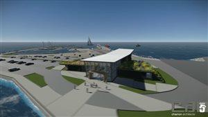 Les plans préliminaires du Carrefour maritime de Rivière-du-Loup