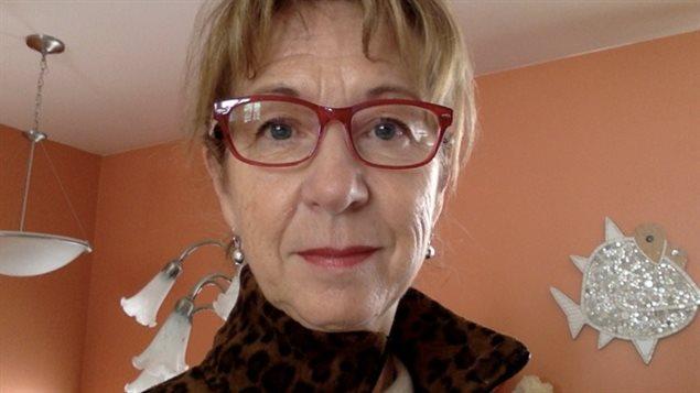 L'auteure Evelyne Bergeron