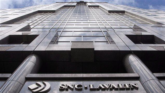 Le siège social de la firme d'ingénierie SNC-Lavalin à Montréal