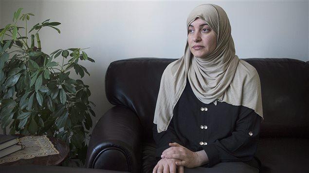 Rania El-Alloul, dont la cause n'a pas été entendue à la Cour du Québec car elle portait le hijab