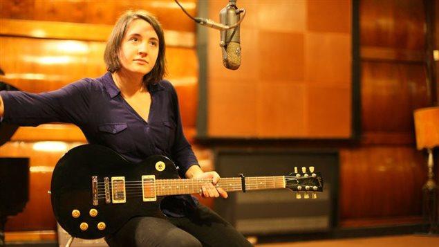 La musicienne Myriam Gendron