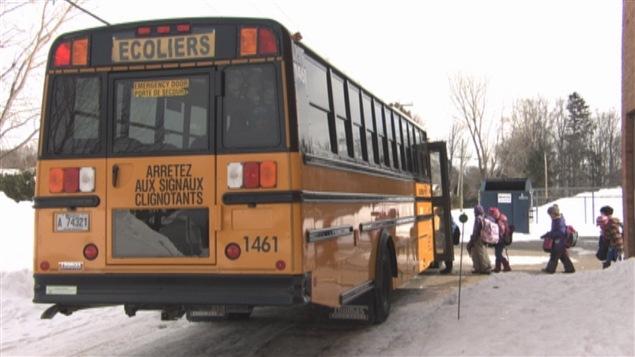 Un autobus scolaire