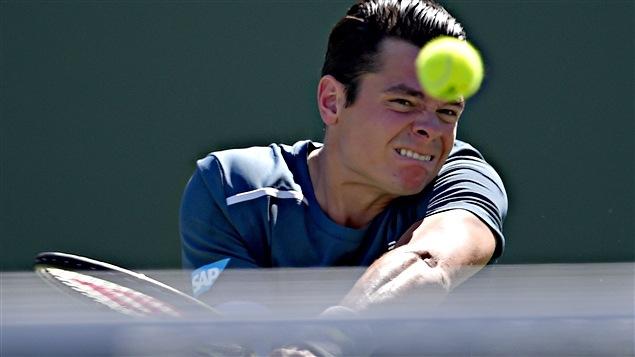 Milos Raonic s'est incliné en deux manches devant Rafael Nadal en quart de finale à Indian Wells.