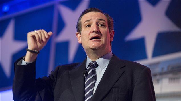 Le sénateur américain Ted Cruz.