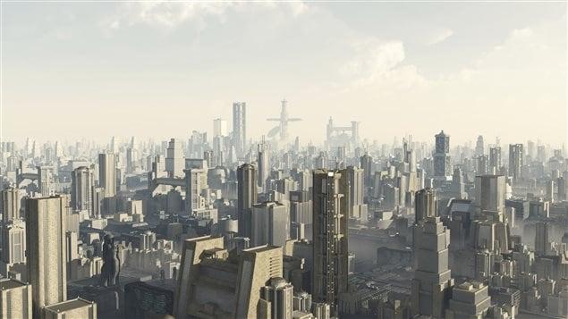 Une ville du futur intelligente