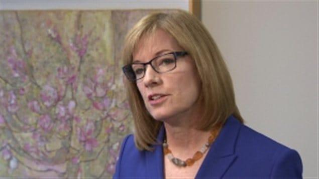 La commissaire à la vie privée de la Colombie-Britannique, Elizabeth Denham.