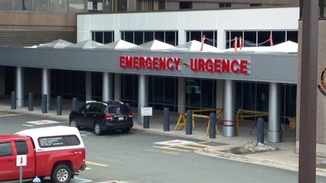 L'urgence de l'Hôpital régional de Saint-Jean