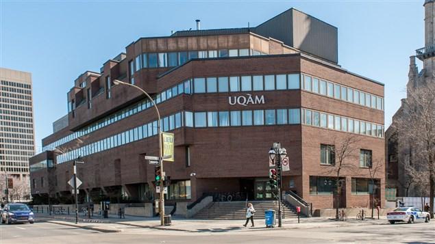 Un des pavillons de l'Université du Québec à Montréal (UQAM)