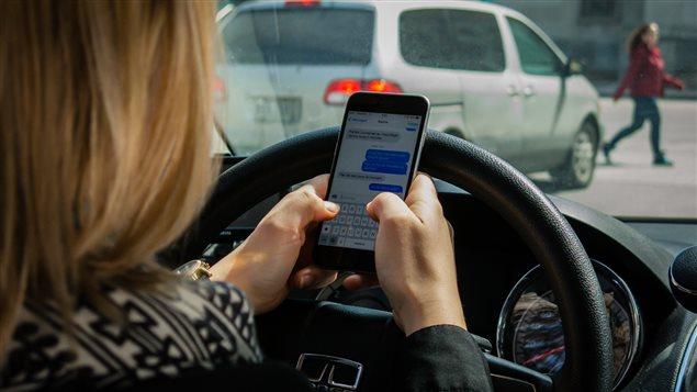 L'utilisation de cellulaire au volant est l'une des distraction les plus courantes selon le Service de police d'Ottawa.