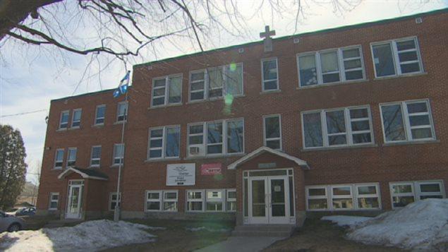 L'école Sainte-Marie, à Saint-Boniface