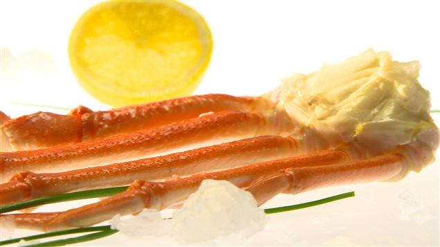 Produit vedette : le crabe des neiges