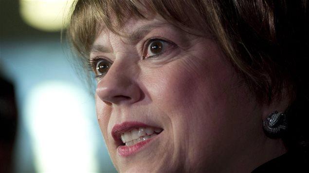 La ministre de la Culture et des Communications, Hélène David