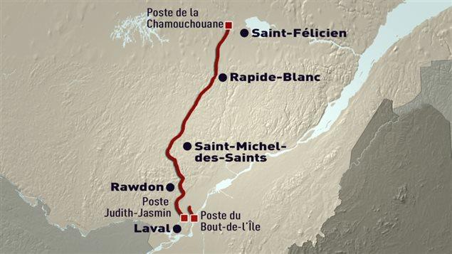 Nouvelle ligne de transport d'électricité de 400 kilomètres entre le Lac-Saint-Jean et Montréal