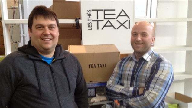 Simon Letendre et Dave Tremblay de Tea Taxi