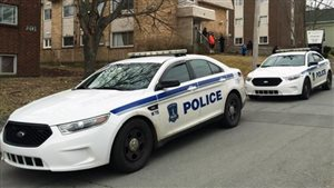 Voitures de la police d'Halifax