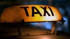 L'insigne d'un taxi