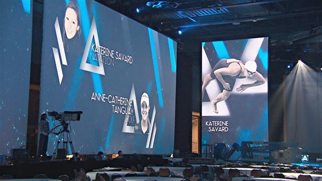 Le Gala Triomphe récompense les meilleurs athlètes de la région de Québec.