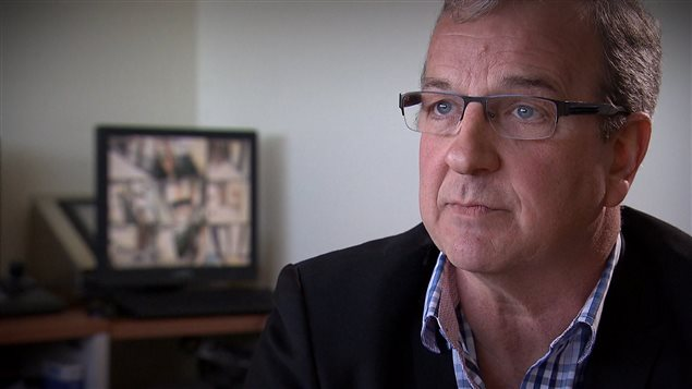 André McKibben a mis en place le programme à la prison de Percé.