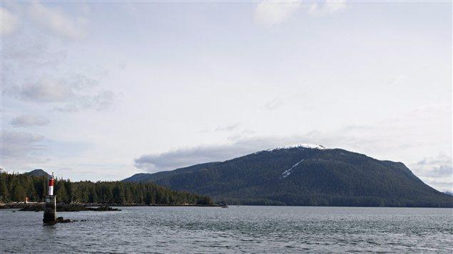 Une usine de gaz naturel liquéfié est proposée sur l'île Lelu au sud de Prince Rupert