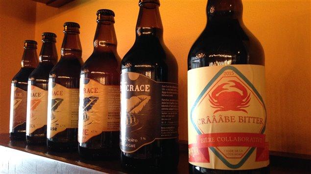 La microbrasserie St-Pancrace de Baie-Comeau produit une bière au crabe