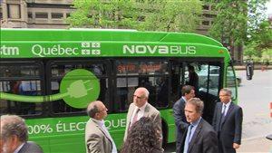 Autobus électrique de la STM