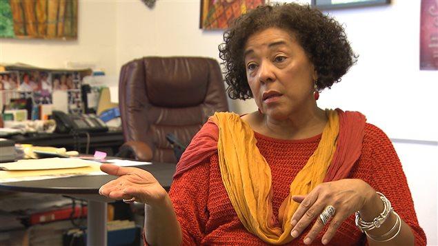 Marjorie Villefranche, directrice de la Maison d'Haïti.