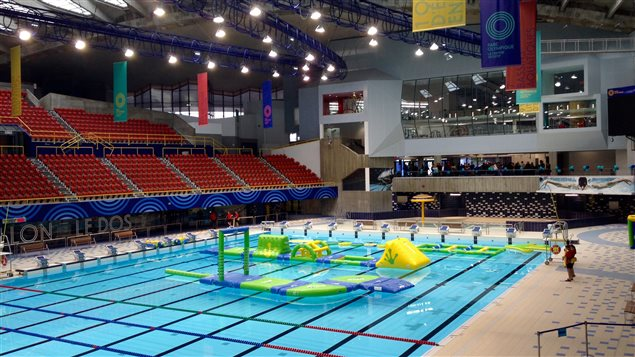 Le parc olympique se refait une beaut ici radio for Centre sportif terrebonne piscine