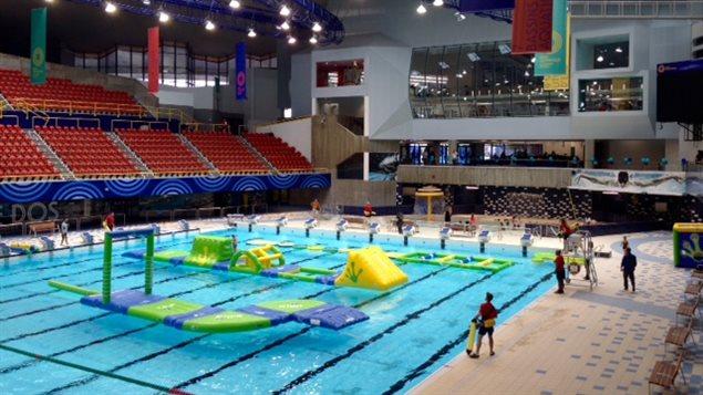 Le r ve olympique une histoire de famille pour les for Club de natation piscine parc olympique
