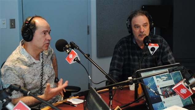 Les deux propriétaires Guy Piché et Denis Jodoin en entrevue à Première heure.