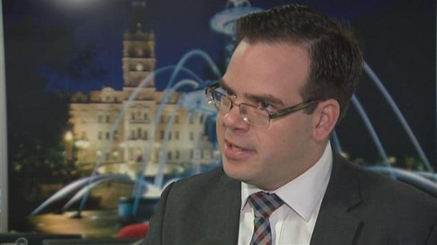 Patrick Taillon, professeur en droit constitutionnel à l'Université Laval, est l'une des deux personnes à l'origine de la contestation.