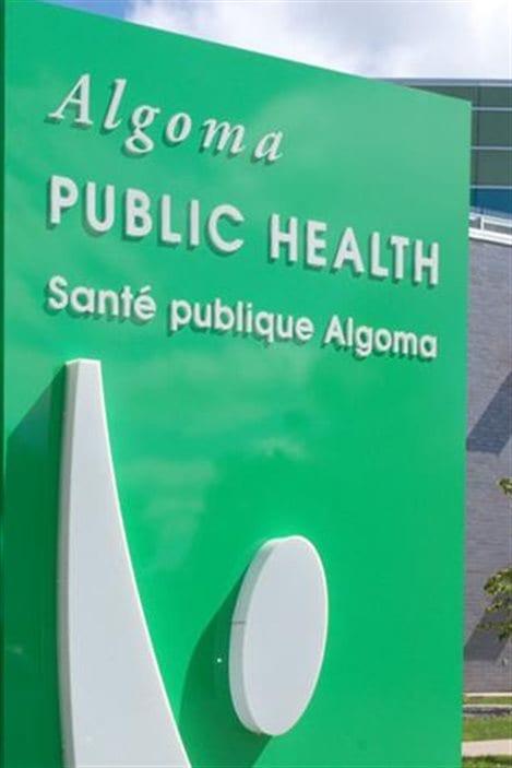 Le service de santé publique d'Algoma