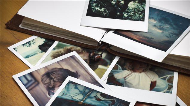 Photos de famille et cahier