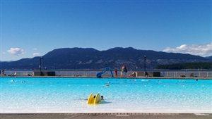 La piscine de Kitsilano à Vancouver