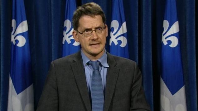 Le député péquiste Sylvain Gaudreault
