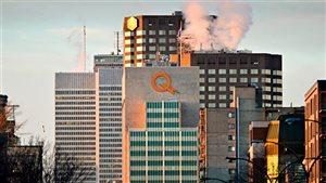 Siège social d'Hydro Québec à Montréal.