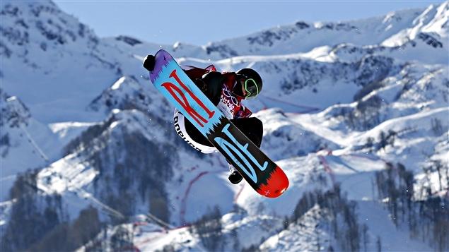 Sébastien Toutant aux Jeux olympiques de Sotchi
