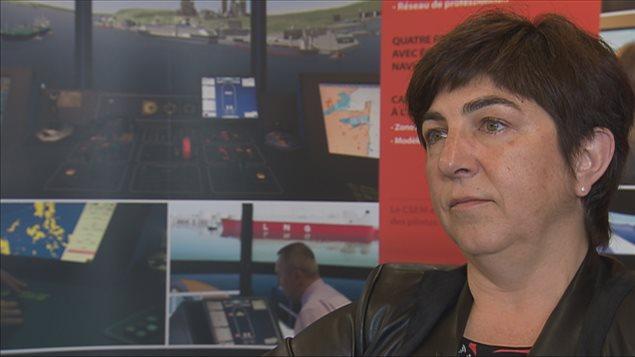 Nicole Trépanier, présidente de la Société de développement économique du Saint-Laurent, dit vouloir  mieux informer la population.