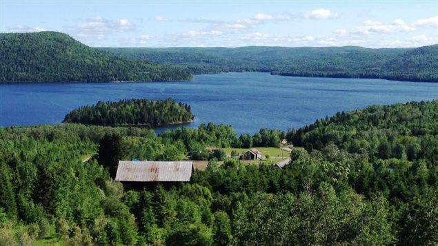 Le lac Témiscouata