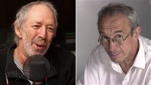Pierre Falardeau et Pierre Foglia (archives)