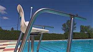 La piscine de l'Exposition de Trois-Rivières.