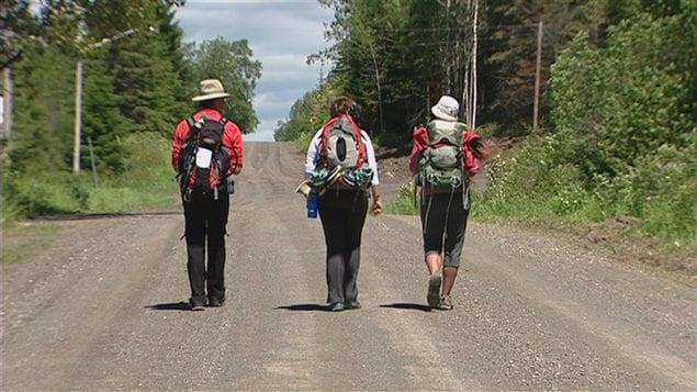 Un Compostelle québécois voit le jour dans l'Est du Québec : le Chemin de Saint-Rémi.