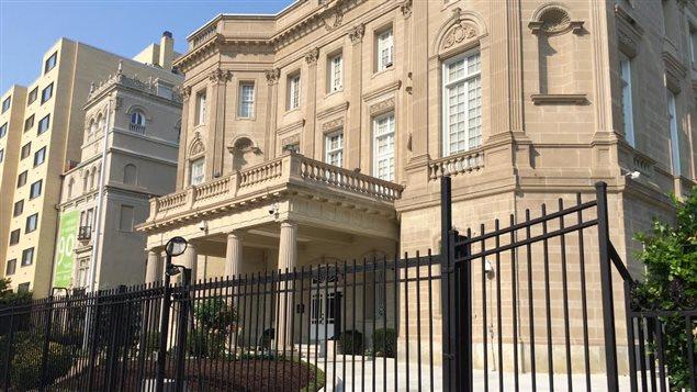 C'est dans cet immeuble que Cuba ouvrira son ambassade à Washington.
