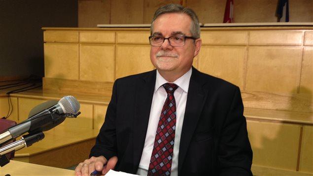 Le défenseur des enfants et de la jeunesse du Nouveau-Brunswick, Norman Bossé.