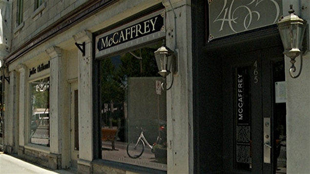 Autrefois emblématique de la haute couture pour les futures mariées, la boutique McCaffrey d'Ottawa a déclaré faillite. (21-07-15)