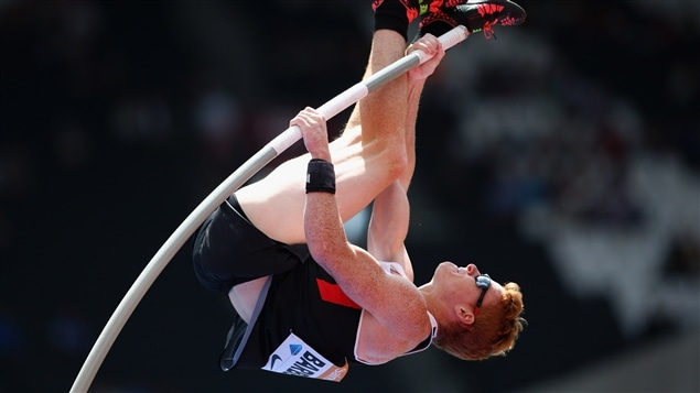 Shawn Barber à la perche